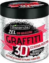 Parfumuri și produse cosmetice Gel de păr - Bielenda GRAFFITI 3D Extra Strong Stayling Hair Gel