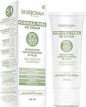 Parfumuri și produse cosmetice BB-Cream - Deborah Milano Formula Pura BB Cream 5in1