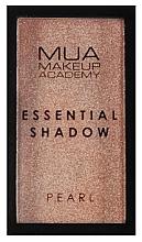 Parfumuri și produse cosmetice Fard de ochi - MUA Essential Shadow Pearl