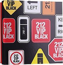 Parfumuri și produse cosmetice Carolina Herrera 212 Vip Black - Set (edp/100ml + sh/gel/100ml)