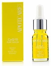 Parfumuri și produse cosmetice Ser de protecție pentru față - APOT.CARE Pure Seurum CoQ10