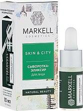 Ser-elixir pentru față - Markell Cosmetics Skin&City — Imagine N1