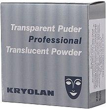 Pudră translucidă fixare machiaj - Kryolan Translucent Powder — Imagine N3