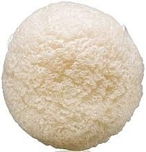 Parfumuri și produse cosmetice Burete pentru curățarea feței - Sefiros Konjac Sponge White