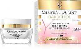 Parfumuri și produse cosmetice Cremă activ-modelatoare pentru față 50+ - Christian Laurent Bakuchiol Retinol Y-Reshape Lifting Cream