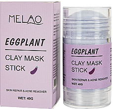 """Parfumuri și produse cosmetice Mască-stick pentru față """"Eggplant"""" - Melao Eggplant Clay Mask Stick"""