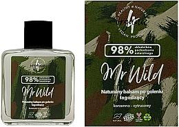 Parfumuri și produse cosmetice Balsam calmant după bărbierit - 4Organic Natural Soothing After Shave Balm