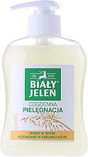 Săpun hipoalergenic cu extract de ovăz - Bialy Jelen Hypoallergenic Premium Soap Extract Of Oats — Imagine N2