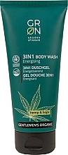 Parfumuri și produse cosmetice Gel de duș 3 în 1 - GRN Gentlemen's Organic Hemp & Hop 3-in-1 Body Wash