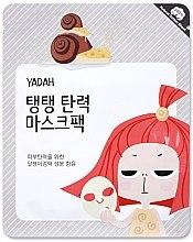 Parfumuri și produse cosmetice Mască de țesut cu extract de mucină de melc și colagen - Yadah Collagen Mask Pack