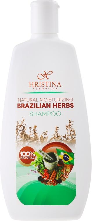 "Șampon hidratant ""Ierburi braziliene"" - Hristina Cosmetics Brazilian Herbs Shampoo"