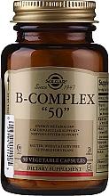 "Parfumuri și produse cosmetice B-Complex de vitamine - Solgar B-Complex ""50"""