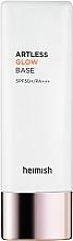 Parfumuri și produse cosmetice Bază de machiaj - Heimish Artless Glow Base SPF50+ PA+++