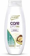 """Parfumuri și produse cosmetice Cremă-gel de duș """"Ulei de argan"""" - Luksja Care Pro Oils Creamy Shower Gel"""