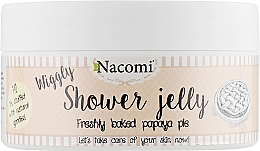 "Parfumuri și produse cosmetice Gel de duș ""Prajitură cu gust de papaya"" - Nacomi Shower Jelly Freshly Baked Papaya Pie"