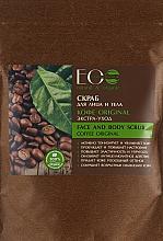 """Scrub pentru față și corp """"Coffe Original"""" - ECO Laboratorie Face and Body Scrub Coffee Original — Imagine N3"""