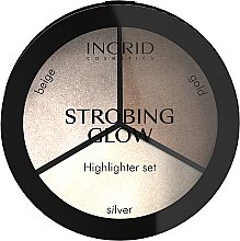 Parfumuri și produse cosmetice Paletă iluminator - Ingrid Cosmetics Strobing Glow Palette