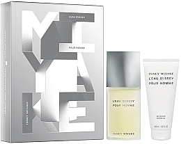 Parfumuri și produse cosmetice Issey Miyake Leau Dissey Pour Homme - Set (edt/75ml + sh/gel/100ml)