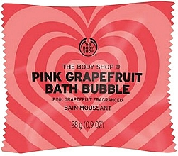 "Parfumuri și produse cosmetice Bombă efervescentă de baie ""Grapefruit roz"" - The Body Shop Pink Grapefruit Bath Bubble"