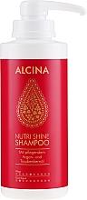 Parfumuri și produse cosmetice Șampon nutritiv - Alcina Nutri Shine Oil Shampoo