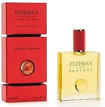 Parfumuri și produse cosmetice Esteban Colere DEpices - Apă de toaletă (tester cu capac)