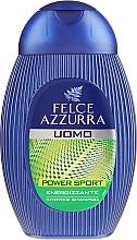 """Parfumuri și produse cosmetice Șampon-gel de duș """"Dynamic"""" - Paglieri Felce Azzurra Shampoo And Shower Gel For Man"""
