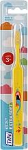 Parfumuri și produse cosmetice Periuță de dinți pentru copii, de la 3 ani, galbenă - TePe Kids Extra Soft
