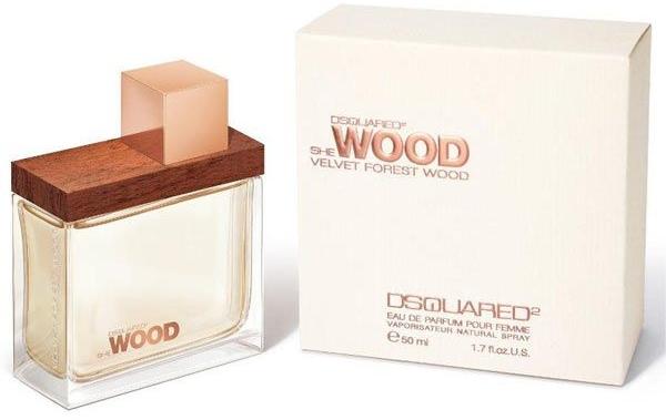 DSQUARED2 She Wood Velvet Forest Wood - Apă de parfum — Imagine N1