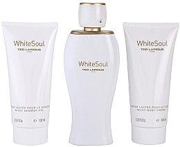Parfumuri și produse cosmetice Ted Lapidus White Soul - Set (edp/100ml + b/cr/100ml + sh/gel/100ml)