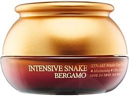Parfumuri și produse cosmetice Cremă anti-îmbătrânire cu extract de venin de șarpe - Bergamo Intensive Snake Wrinkle Care Cream