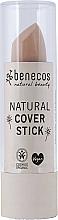 Parfumuri și produse cosmetice Corector stick pentru față - Benecos Natural Cover Stick