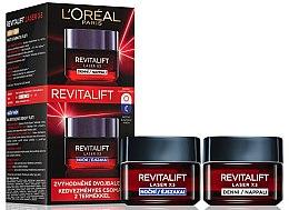 Parfumuri și produse cosmetice Set - L'Oreal Paris Revitalift Laser X3 (f/cr/50ml + f/cr/50ml)