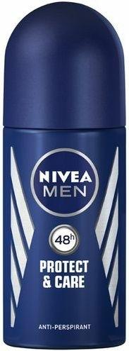 """Deodorant roll-on """"Protecție și îngrijire"""" - Nivea Men Protect and Care Deodorant Roll-On — Imagine N1"""