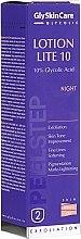 Parfumuri și produse cosmetice Emulsie-peeling 10% de noapte cu acid glicolic - GlySkinCare Lotion Lite 10