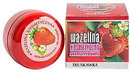 """Parfumuri și produse cosmetice Vaselină pentru buze """"Căpșună"""" - Kosmed Flavored Jelly Strawberry"""