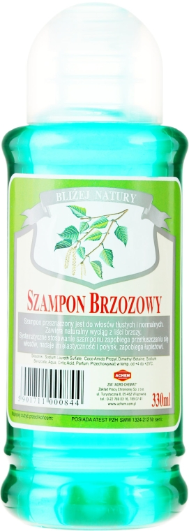 "Șampon de păr ""Mesteacăn"" - Achem Popular Birch Shampoo"
