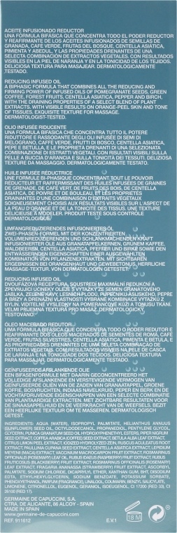 Ulei de corp pentru slăbire - Germaine de Capuccini Perfect Forms Total Fit — Imagine N3