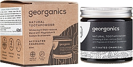 Parfumuri și produse cosmetice Praf natural de dinți - Georganics Activated Charcoal Natural Toothpowder