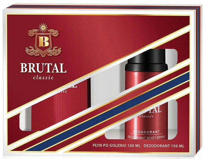 La Rive Brutal Classic - Set (ash/lot/100ml + deo/150ml)