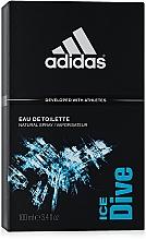 Adidas Ice Dive - Apă de toaletă — Imagine N3