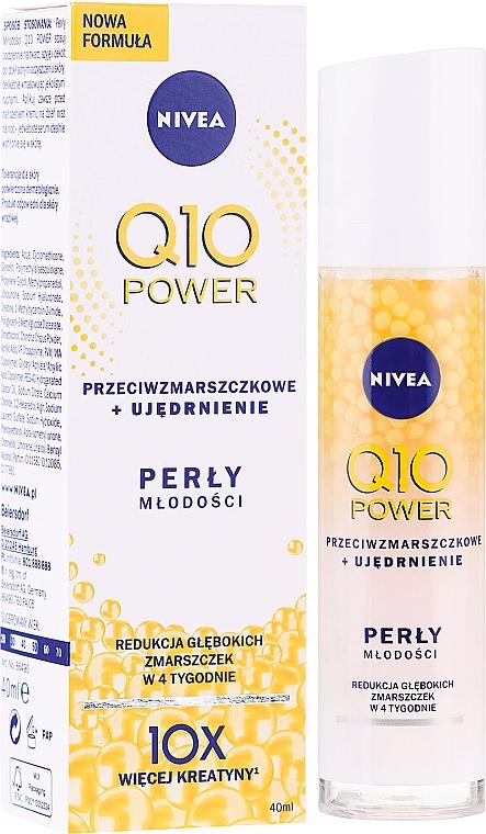Ser antirid pentru faţă - Nivea Q10 Plus Anti-Wrinkle Serum Pearls
