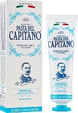 Parfumuri și produse cosmetice Pastă de dinți, pentru fumători - Pasta Del Capitano Smokers Toothpaste