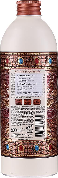 Tesori d`Oriente Byzantium Bath Cream - Cremă-spumă de baie — Imagine N2