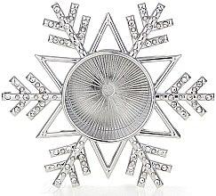 Suport pentru lumânare - Yankee Candle Twinkling Snowflake Tea Light Holder — Imagine N1