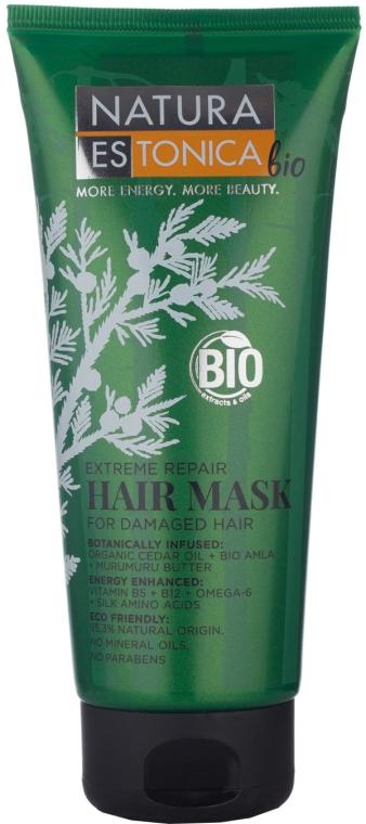 """Mască pentru părul deteriorat """"Recuperare extremă"""" - Natura Estonica Extreme Repair Hair Mask"""