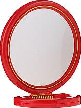 Parfumuri și produse cosmetice Oglindă cosmetică 5046, roșie - Top Choice