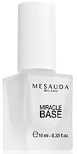 Parfumuri și produse cosmetice Lac de bază pentru unghii - Mesauda Miracle Base 116
