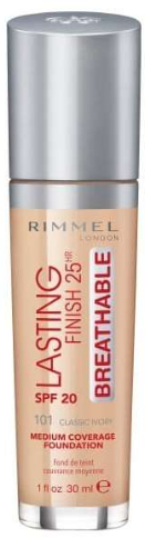 Primer pentru față - Rimmel Lasting Finish 25HR Breathable Foundation SPF 20