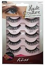 "Parfumuri și produse cosmetice Gene false ""Flirt"" - Kiss Haute Couture Strip Lashes Flirt"