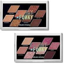 Parfumuri și produse cosmetice Paletă fard de pleoape - Holika Holika Chunky Metal Palette